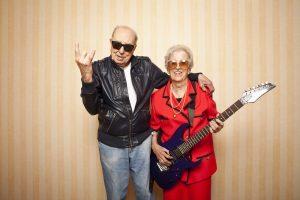 Cool Elder Couple