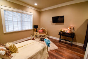 Spacious bedrooms at Sycamore Creek Ranch